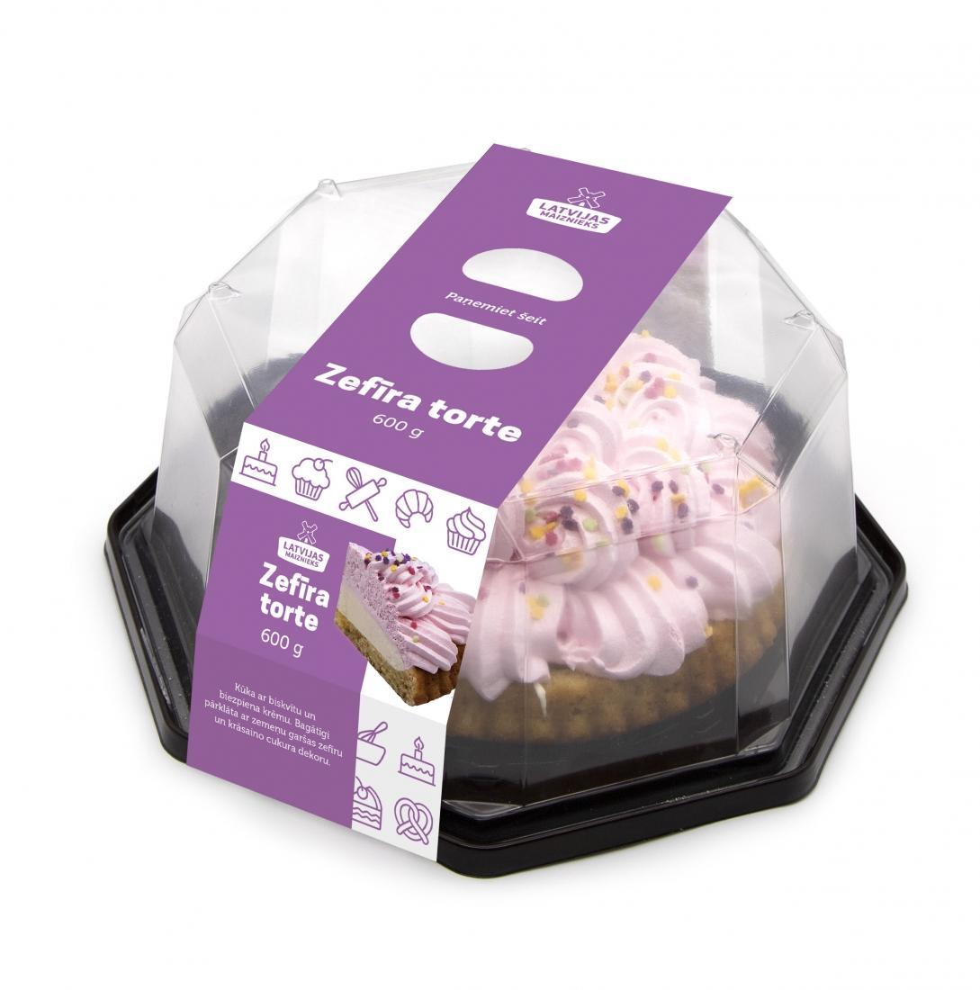 Зефирный торт 600г