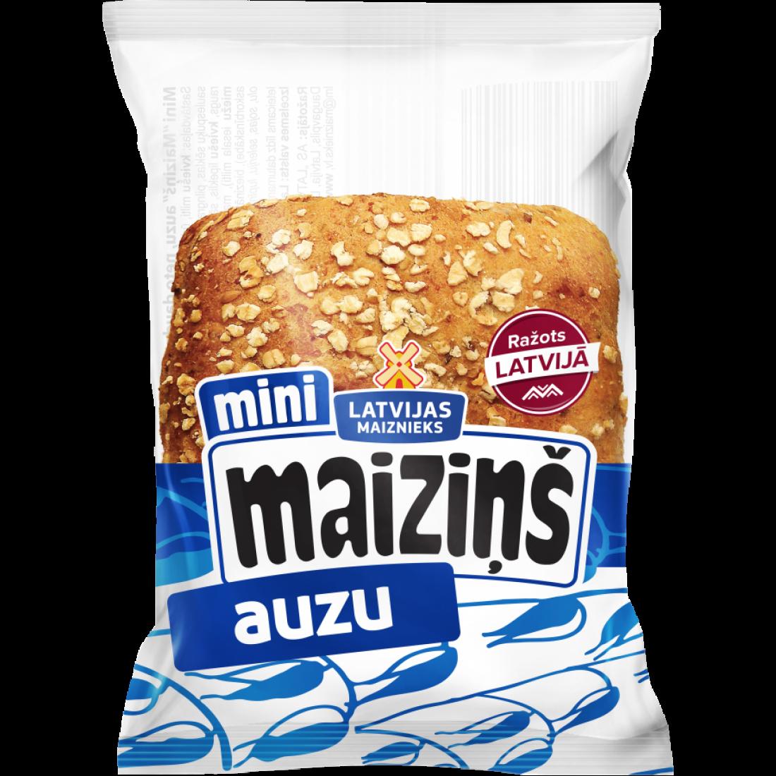 Mini Maiziņš кармашки с овсяными хлопьями 55g