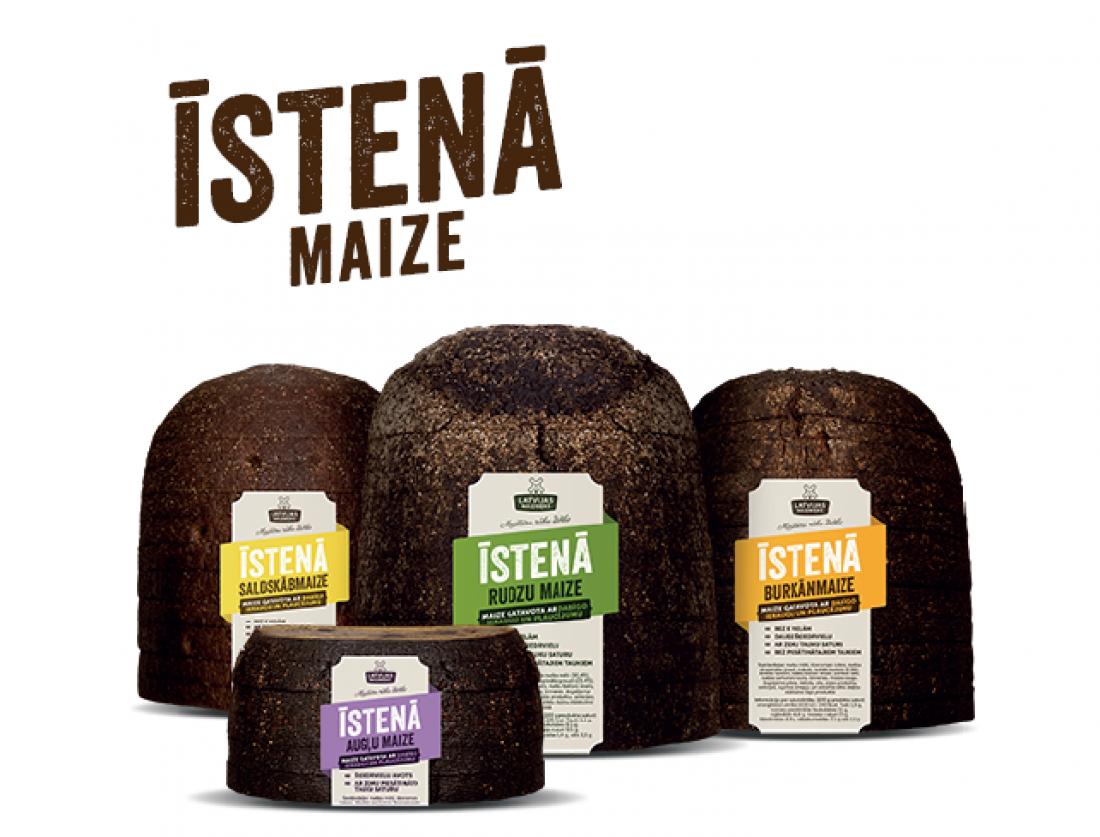 LATVIJAS MAIZNIEKS sāk ražot maizi ar dabīgo ieraugu un plaucējumu