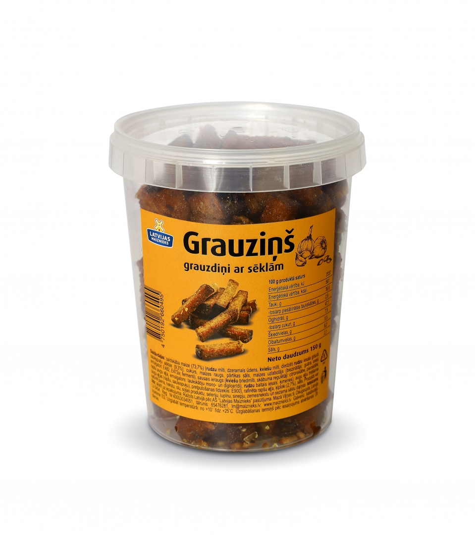 Grauzdiņš with seeds 150g