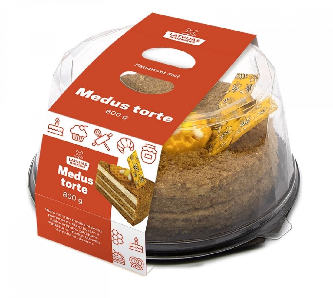 Медовый торт 800 гр