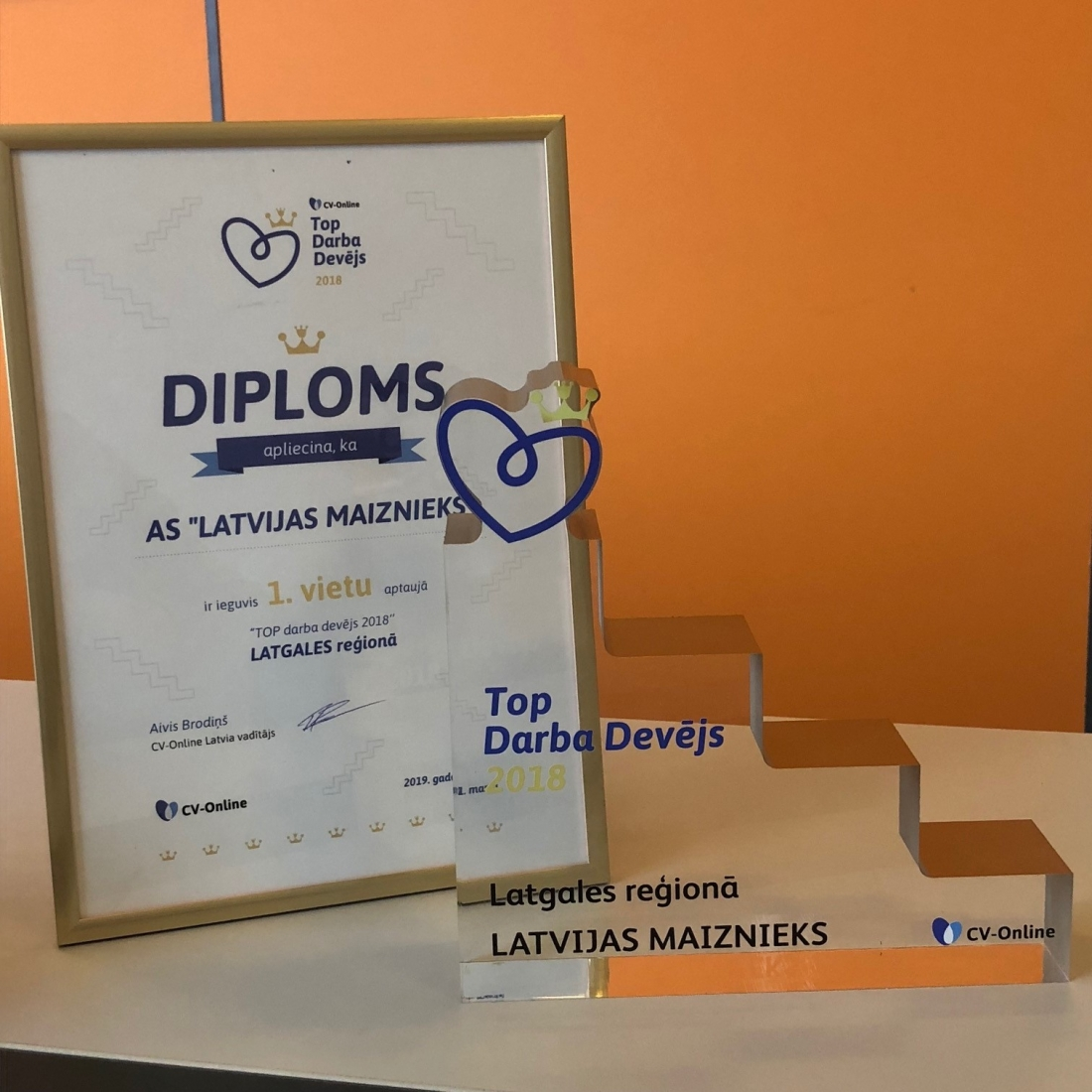 The best employer in the region of Latgale 2018