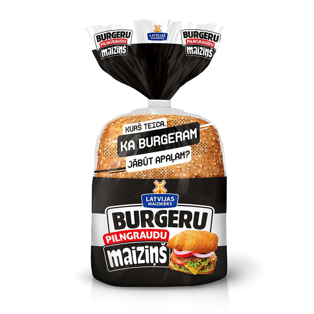 Maiziņš цельное зерно Бургер 240 г