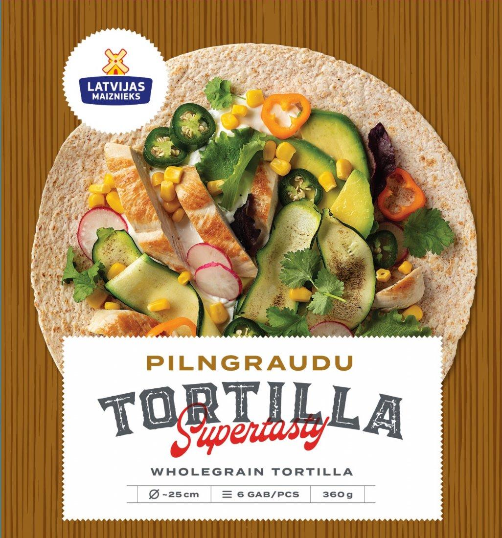 NEW! Whole Grain Wheat Tortilla