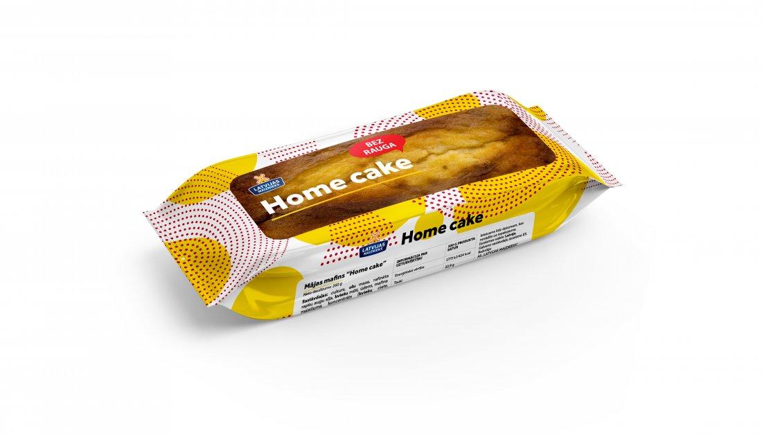 "JAUNUMS! MĀJAS MAFINS ""HOME CAKE"""