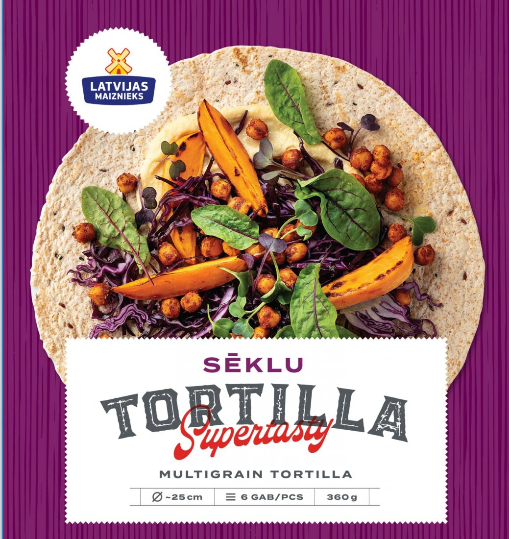 NEW! Tortilla with seeds