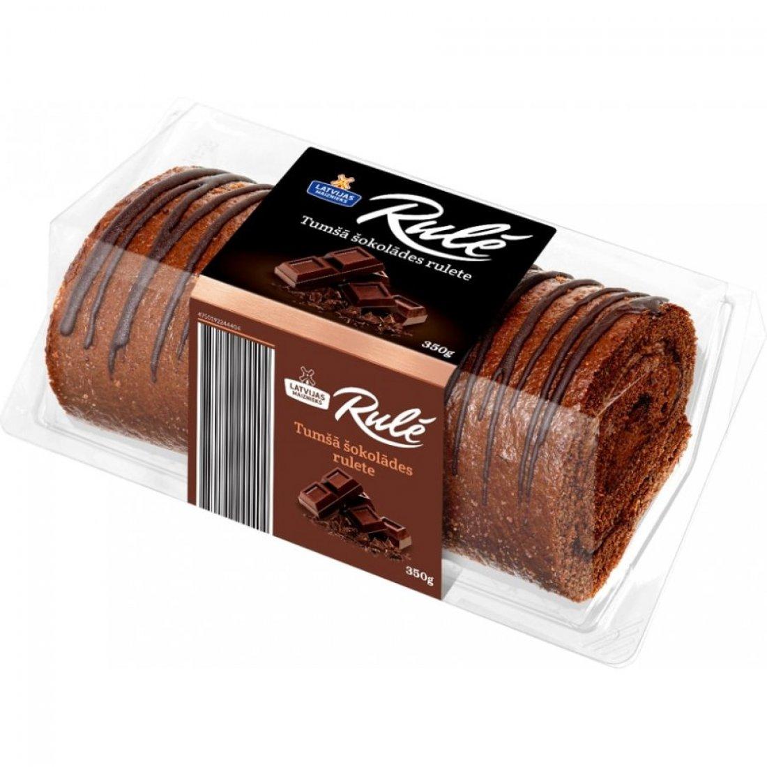 "NEW! Dark chocolate roll ""RULĒ"""