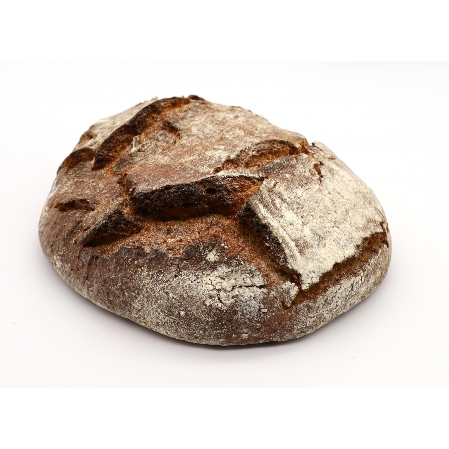 "Home ""Rustica"" light rye bread"