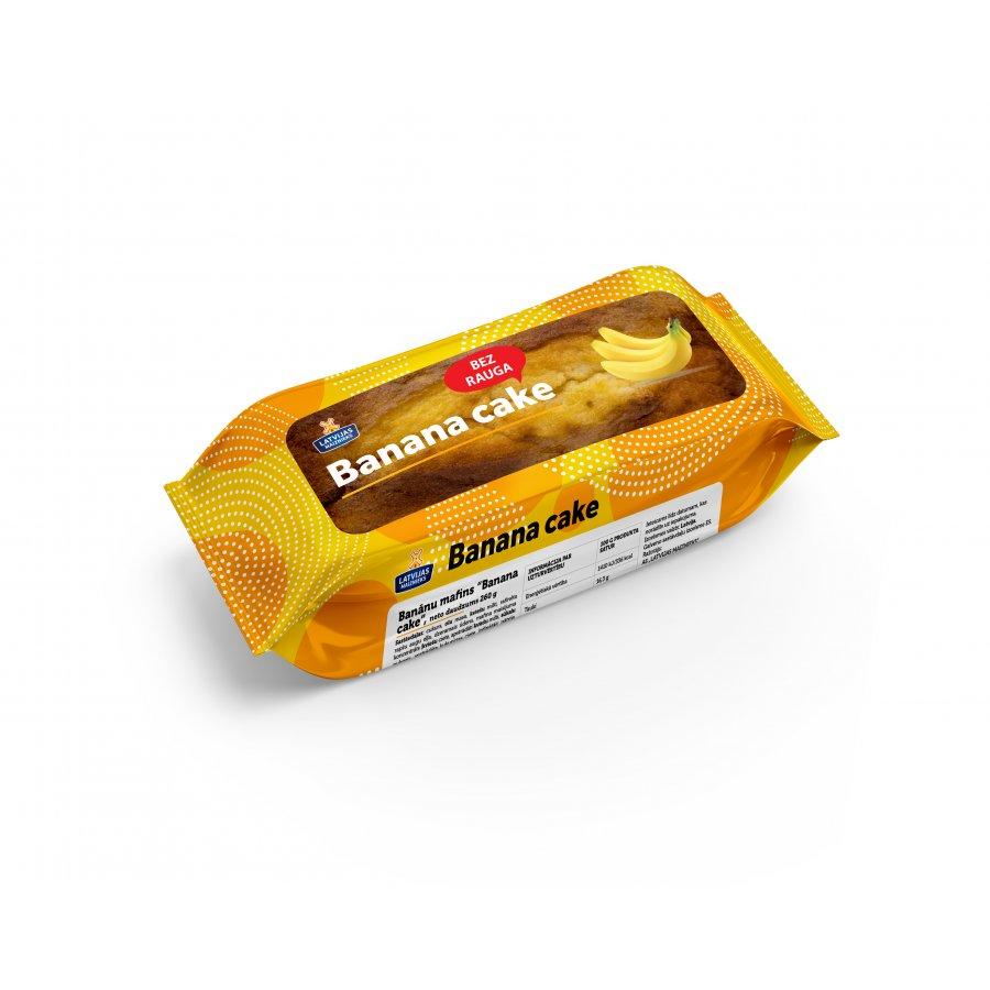 """Banānu mafins """"Banana cake"""""""