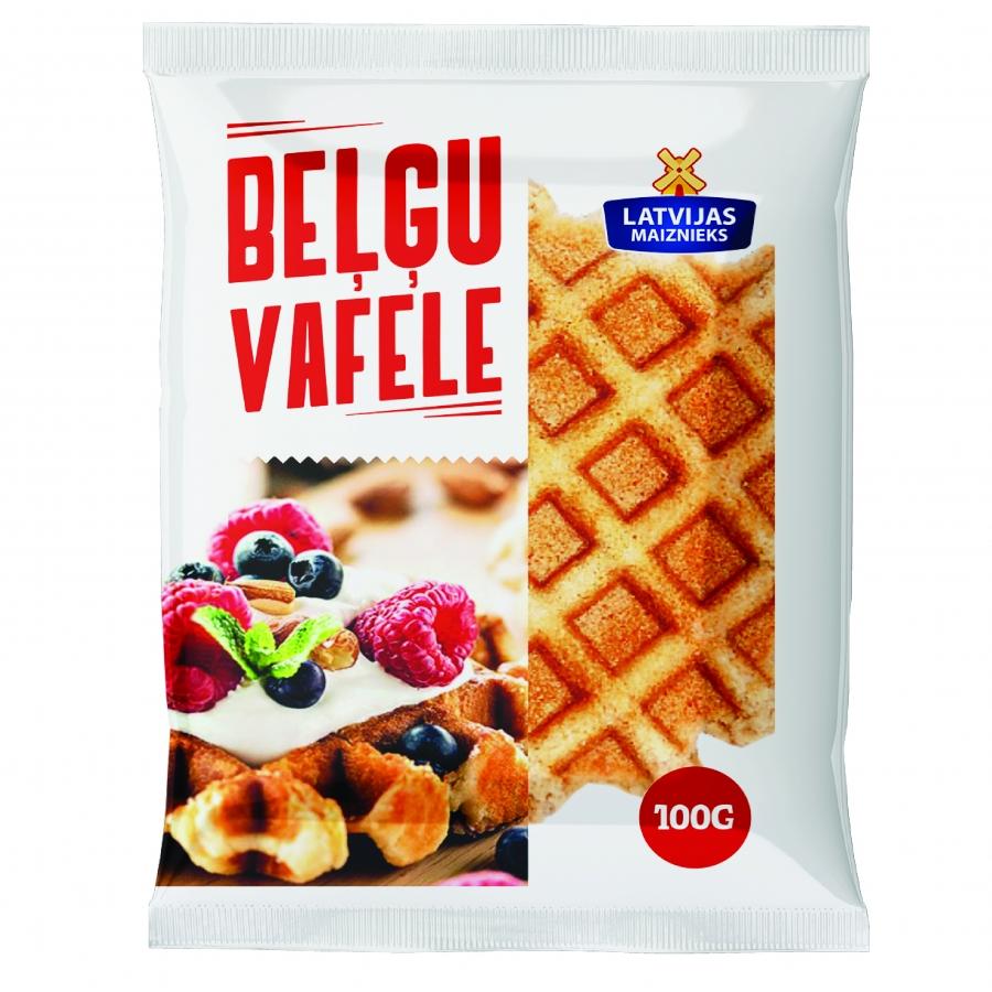 Belgian waffles in a package