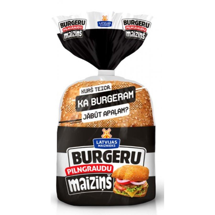 Maiziņš Whole grains burger buns