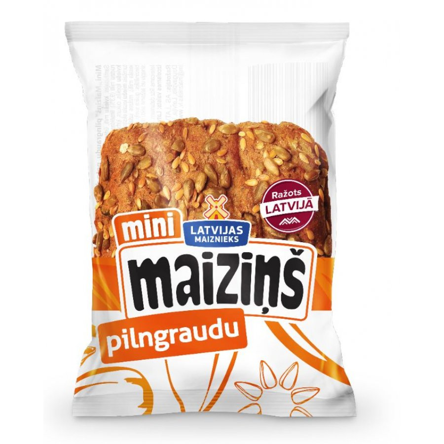 """Mini """"Maiziņš"""" pilngraudu"""