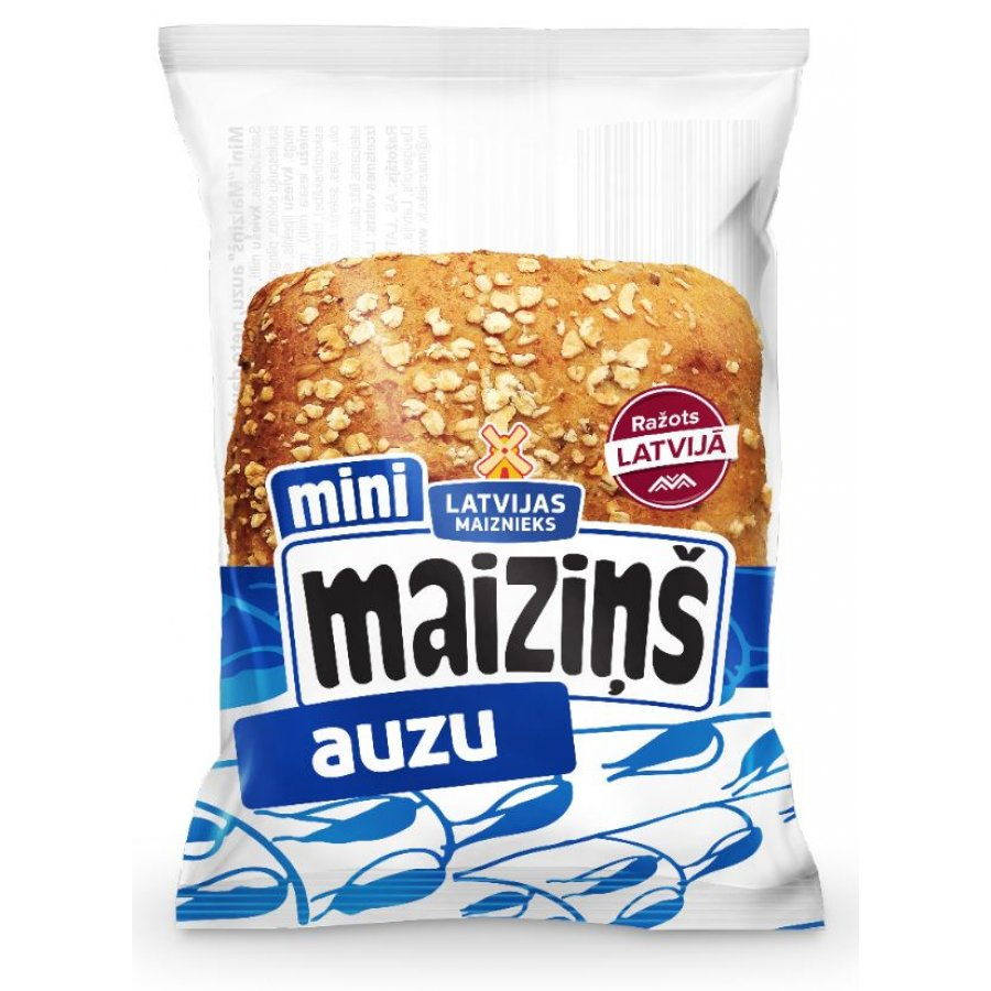 """Мини """"Maiziņš"""" с овсяными хлопьями"""