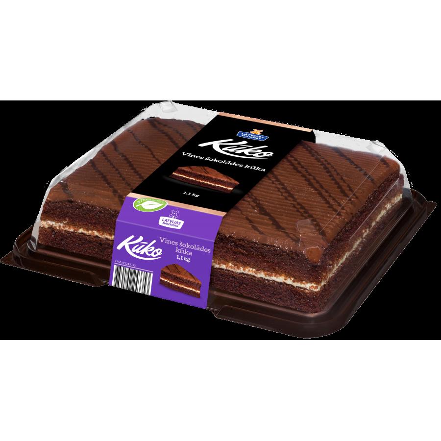"""""""Kūko"""" Vīnes šokolādes kūka"""