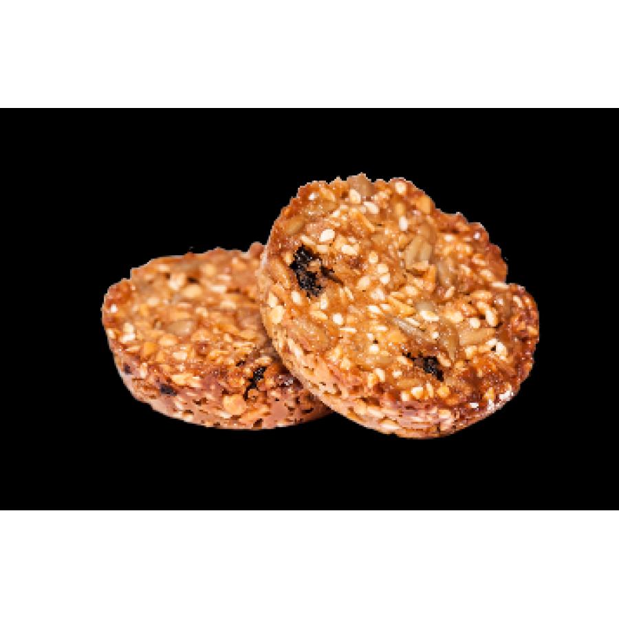 Zeltene cookies with seeds