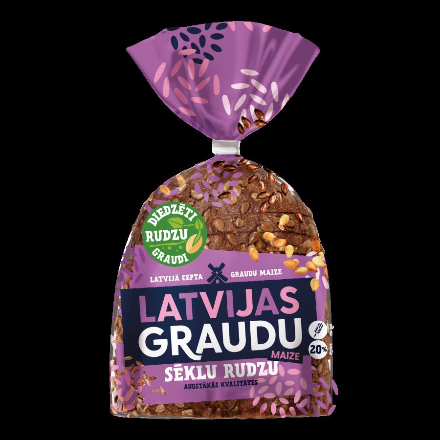 """""""LATVIJAS graudu maize"""" sēklu rudzu"""