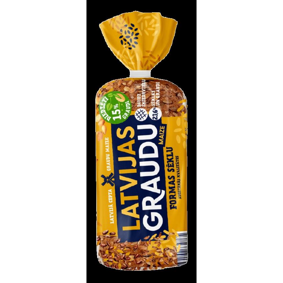 Latvijas Graudu formas sēklu maize