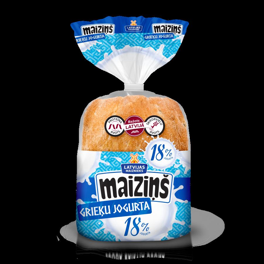 """Maiziņš"" с греческим йогуртом"