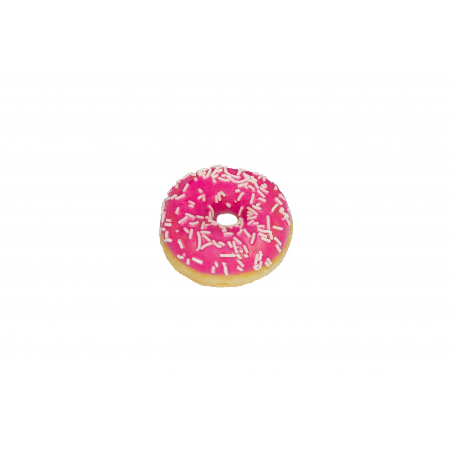 mini strawberry donuts