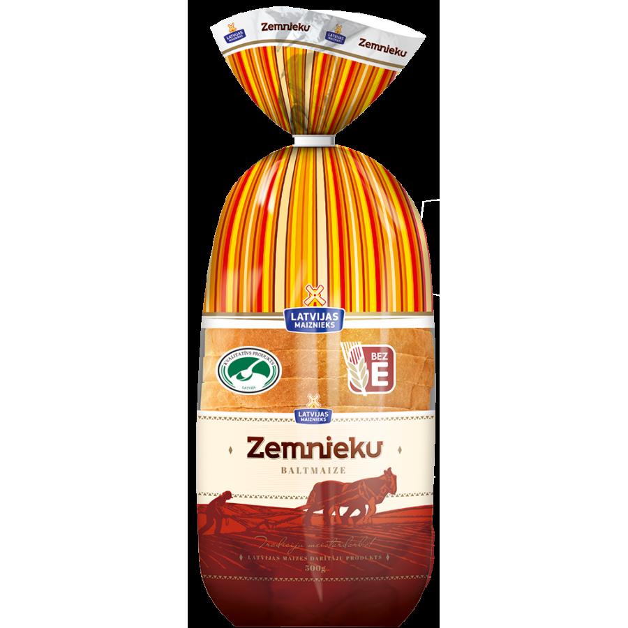 White bread ZEMNIEKU
